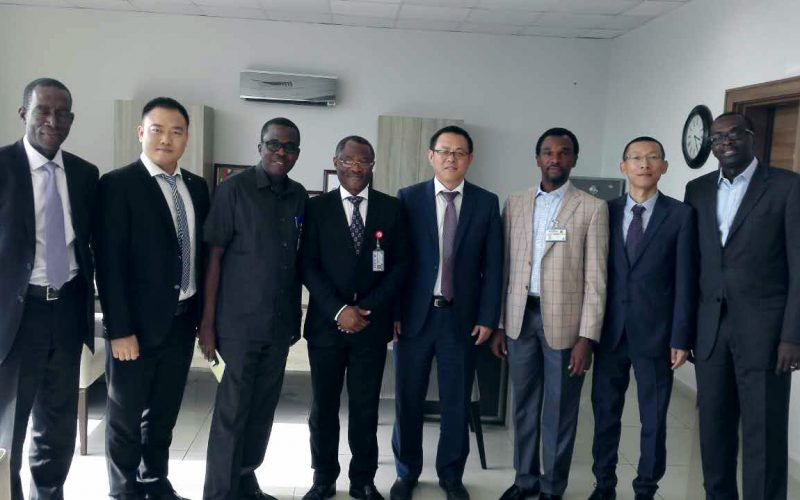 ccc team pays courtesy to NDPHC